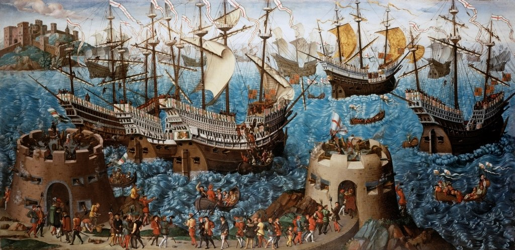 Embarkation of Henry VIII